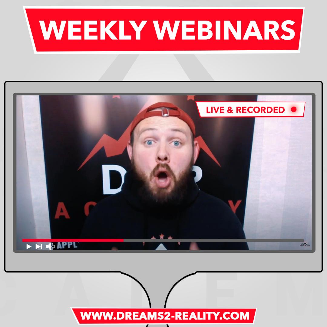 Weekly Webinars – Register